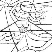 Desenho De Romero Britto Mulher Brasileira Para Colorir Desenhos