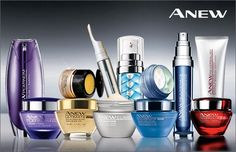 The Anew skin care line from Avon. ANEW has been pioneering skin care for 20 {long years}. There are different  products for different skin types.  Experts says it is better to begin an anti-aging beauty regimen early...like in your twenties.
