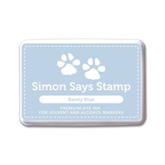 Simon Says Stamp BARELY BLUE INK