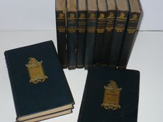 Set of Books Joseph Conrad 1920 11 Books Deep Blue by booksvintage, $85.00