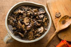 Mushroom Ragoût #Vegan #Healthy #EatClean #Recipes