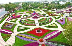 Em Dubai, conheça o Al Ain Paradise, o parque mais florido do mundo!