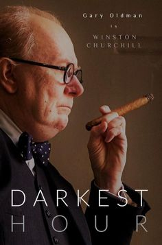 "In its ""Darkest Hour"", a nation looks to one man to guide them through. Gary Oldman is Winston Churchill. In CinemaHalls January 2018..."