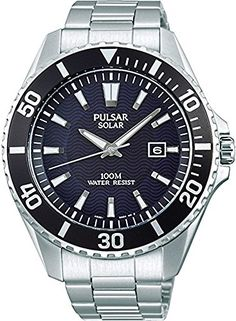 Men's Wrist Watches - Pulsar watch Solar PX3035 *** More info could be found at the image url.