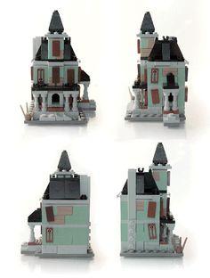 LEGO Ideas - Microscale Haunted House