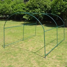 STRONG CAMEL New Greenhouse Replacement Frame for 10'X7'X6' Larger Hot Garden House > Size: 10'x7'x6'(300X200Hx180cm),Easy to set up and portable ,Idea for garden & backyard. Only Frame Check more at http://farmgardensuperstore.com/product/strong-camel-new-greenhouse-replacement-frame-for-10x7x6-larger-hot-garden-house/