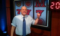 Behind-the-scenes at Jim Cramer's 7th anniversary show. Congrats to Jim & the Mad Money team!