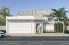 Planta de casa com edícula e piscina - Projetos de Casas, Modelos de Casas e Fachadas de Casas