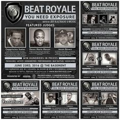 On June 23rd BEAT ROYALE returns to The Basement with a killer double Artist Soundstage. This month we have Emcee/Promoter and founding member of TH5Pentagon @Shredtvt1 coming to bless the stage.  We also have the powerhouse team of  @IAmMilesStone and @Unknownlyric  all coming to rock out with us.  Come out and network with our special guest judges for Beat Battle King @KarenMarieMason @JasonMBrown and @Cappriccieo .  We have @Ysoseriouzbeatz coming to showcase his hot production during the…