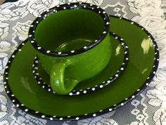 Like the idea for a mug. Or platter with center a different color?