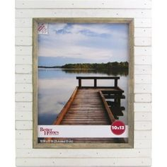 $19 Better Homes and Gardens Oracoke 10x13 Soft White Picture Frame