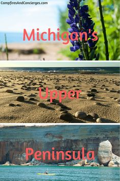 Michigan's Upper Peninsula Outdoor Adventure, Midwest Travel #puremichigan #midwesttravel
