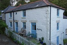 Chyandour Cottage, Durgan, Cornwall.