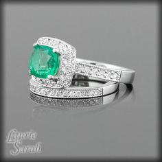 Cushion Cut Engagement Rings Setting 5