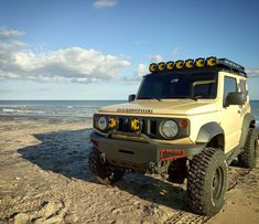 Jimny Suzuki, Adventure Car, Baby Rhino, Car Travel, Land Rover Defender, Rc Cars, Offroad, Toyota, Monster Trucks