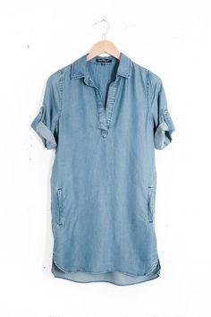 Shirt dress - photo