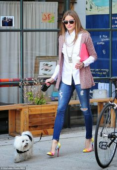 I LOVE ALL THE PIECES IN THIS OUTFIT OF OLIVIA PALERMO By Marta Martins