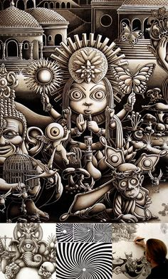 Joe Fenton's ArtJoe Fenton is an illustrator from Brooklyn, NY. He studied sculpting at the Wimbledon School of Art and moved on for few years in the film industry for directors such as Terry Gilliam and for companies such as Disney and Miramax as a film concept designer.