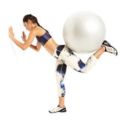 Stability Ball Workout : Its hard finding workouts I don't already know of. Finally found this one on the ball. Only recognized one.