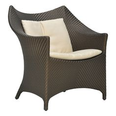 AMARI VITA LOUNGE CHAIR - JANUS et Cie Outdoor Chairs, Outdoor Furniture, Outdoor Decor, Underwater Restaurant, Outdoor Living, Janus, Lounge, Cushions, Home Decor