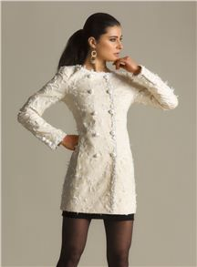 Moschino Cheap & Chic Embroidered Coat