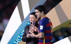Suarez gets the golden ball in Club World Cup - http://www.tsmplug.com/football/suarez-gets-the-golden-ball-in-club-world-cup/