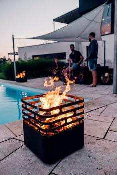 Höfats fire bowl Cube black höfatshöfats - My Great Pins
