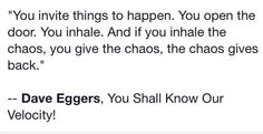 Quote. Chaos. Peace. Peaceful living.