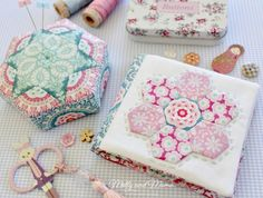 'Quilting on the Go... English Paper Piecing' Book Tour - Molly and Mama