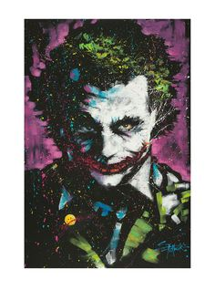 34 Awesome comic joker painting images