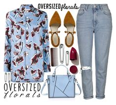 """""""Oversized Florals"""" by katerin4e-d ❤ liked on Polyvore featuring Marni, Topshop, NARS Cosmetics, contestentry, fashionset, polyvorecontest and oversizedflorals"""