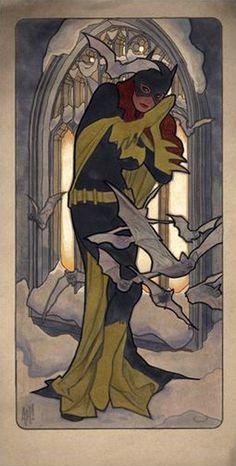 Batgirl by Adam Hughes *