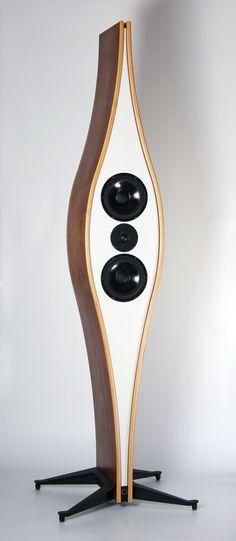 2way, D'appolito, passive radiator system loudspeaker.  methuselahpalooza