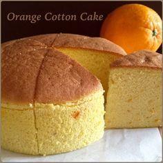 My Mind Patch: Orange Cotton Cake 香橙棉花蛋糕