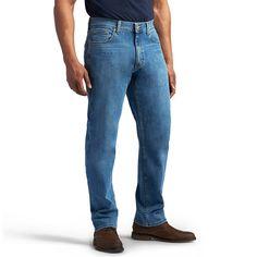 Men's Lee Modern Series Athletic-Fit Jeans, Size: 40X30, Med Blue