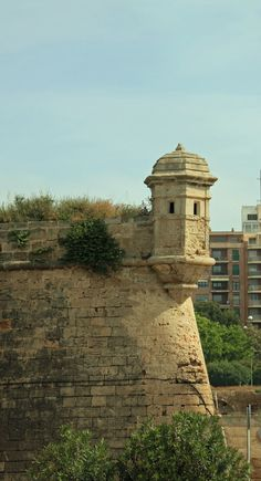 Palma de Majorca, Spain--looks so much like the turrets of El Morro (San Juan, Puerto Rico)