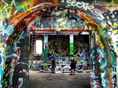 Murphy Ranch -- This abandoned Nazi base was originally built in 1933 by Winona and Norman Stephens, and came with a sizable water storage tank, fuel tank, bomb shelter, and bunkers surrounding the compound. The site is now owned by the city of Los Angeles, and despite repeated calls for its demolition, it remains a popular attraction for hikers and tourists.