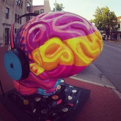 Musical brain #IU #brain #music #headphones #education #bloomington