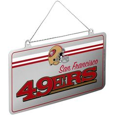 San Francisco 49ers Metal License Plate Ornament
