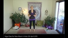 Yoga Class for New Moon in Aries April 2019 Free Yoga Classes, Deep Relaxation, Online Yoga, New Moon, Self Confidence, Love And Light, Asana, Aries, Presentation