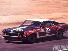 A Look Back at Parnelli Jones' Boss 302 Mustang SCCA Trans-Am Race Car - Hot Rod Magazine