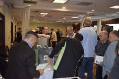The exhibit hall was packed — at DoubleTree by Hilton Fort Lee.