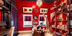Here are some awesome bedroom ideas for your kid. The level of detail in some of these is unreal!