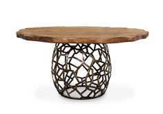 Apis-round-geometric-wood-brass-dining-table