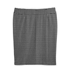 Look Good for Less: Fall Fashion Edition   Houndstooth Skirt   AllYou.com