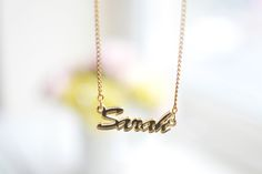 #NameNecklace #Necklace #Letter #Personalised