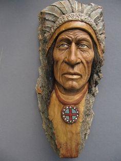 Suzy wood carving wood spirit 10