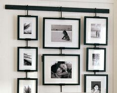 Image detail for -Quick and easy ways to display family photos | Milk and Cookies | Work ...