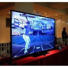 Sharp AQUOS LC-90LE745U 90 Inch TV ~ Now that's a BIG TV!  #unbelievablepepsinextparty