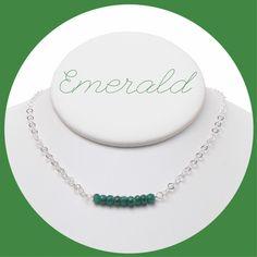 A little Emerald love for all of the May birthdays💚 www.jewelya.com #emerald #birthdaygift